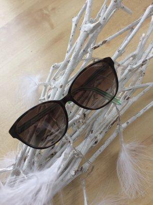 RALPH by RALPH LAUREN Sonnenbrille Cateye Katzenauge braun weiß grün