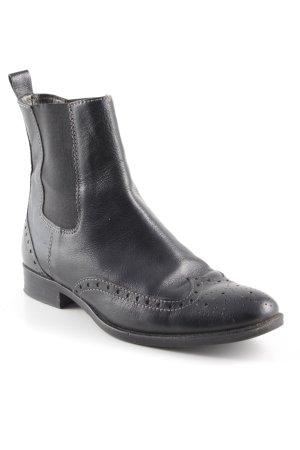Ralph Harrison Ankle Boots schwarz klassischer Stil