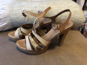 Ralph Harrison Strapped Sandals light brown-beige