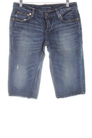 Ralph Lauren 3/4-jeans blauw casual uitstraling