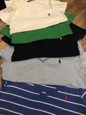 Ralph Lauren Sport V-hals shirt veelkleurig