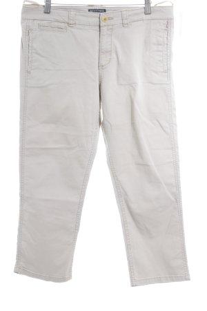 Ralph Lauren Pantalon 7/8 crème style décontracté