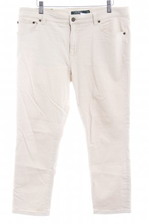 Ralph Lauren Jeans 7/8 crème style simple