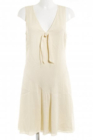 Ralph Lauren A-Linien Kleid hellgelb schlichter Stil