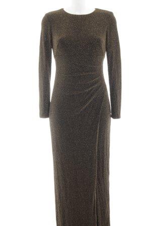 Ralph Lauren Abendkleid schwarz-goldfarben Elegant
