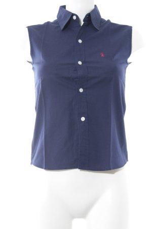 Ralph Lauren ärmellose Bluse dunkelblau Casual-Look