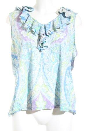 Ralph Lauren ärmellose Bluse florales Muster Casual-Look