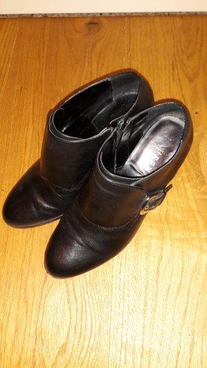 Ralph Lauren Ankelboots Stiefelette schwarz Gr. 38