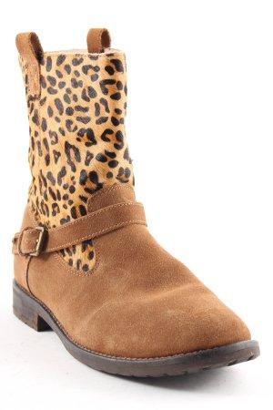 Ralph Lauren Ankle Boots Leomuster extravaganter Stil