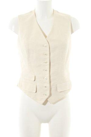 Ralph Lauren Anzugweste wollweiß Casual-Look