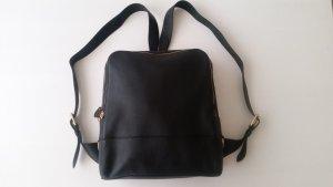 Ralph Lauren, Backpack, Leder, schwarz, neu, € 1.000,-