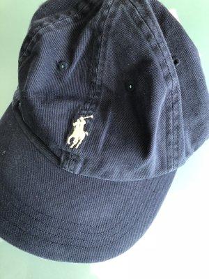 Polo Ralph Lauren Casquette de baseball bleu foncé coton