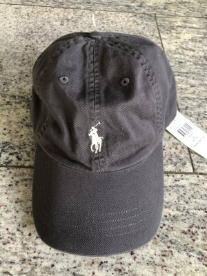 Ralph Lauren Baseball Cap grey-white