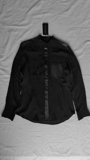 Ralph Lauren Black Label, Bluse, schwarz, 38 (US 8), Seide, neu, € 850,-