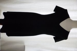 Ralph Lauren Black Label, Cashmere-Kleid, schwarz, Gr. XL, neuwertig, € 950,-