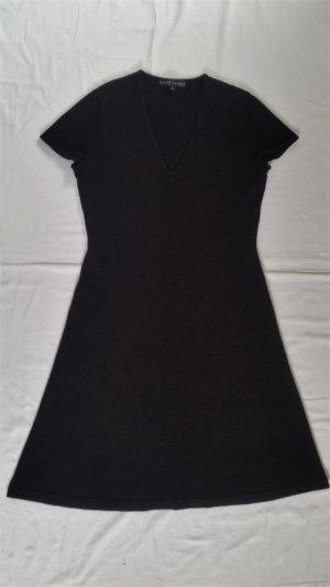Ralph Lauren Black Label Vestito di lana nero Cachemire
