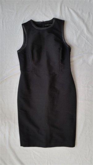 Ralph Lauren Black Label, Kleid, schwarz, 42, Polyester/Viskose, Leder, neu, , € 1.400,-