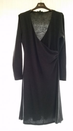 Ralph Lauren Black Label, Kleid, Wolle, anthrazit, XL, neu, € 950, -