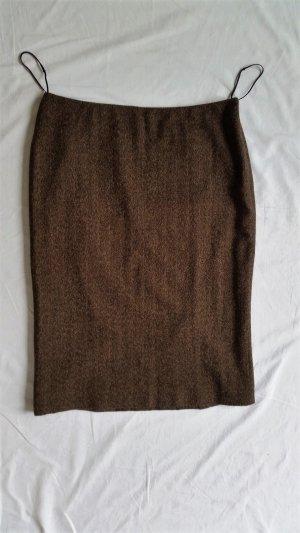 Ralph Lauren Black Label, Rock, Wolle/Cashmere, braun (Herringbone), 40 (US 10), neu, € 850,-