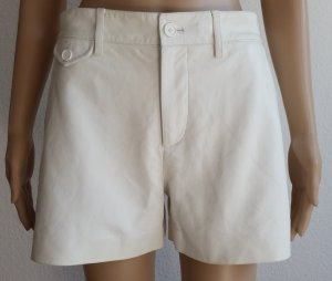 Ralph Lauren Black Label, Shorts, Leder, weiß, 34 (US 4), € 1.500, -