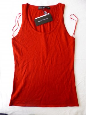 Ralph Lauren Black Label, Top, rot, S, Kaschmir/Seide, neu, € 350, -