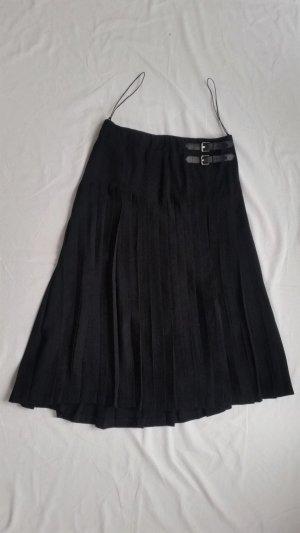 Ralph Lauren Black Label, Wickelrock, 38, schwarz, Polyester, neuwertig, € 1.800,-