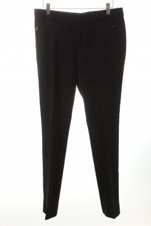Ralph Lauren Black Label Wollhose schwarz Business-Look