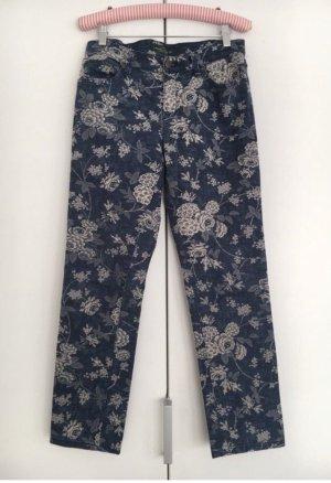 Ralph Lauren Jeans skinny bleu foncé-blanc