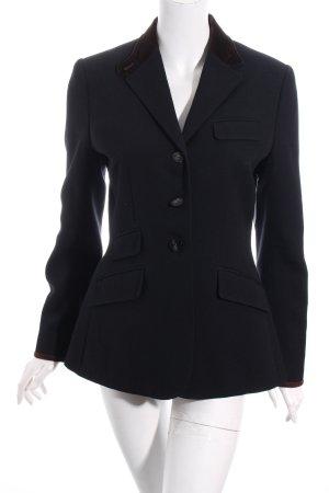 Ralph Lauren Blazer schwarz-dunkelbraun Eleganz-Look