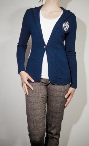 Lauren by Ralph Lauren Knitted Blazer dark blue