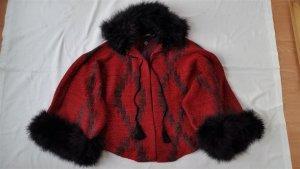 Ralph Lauren Cape dark red-anthracite