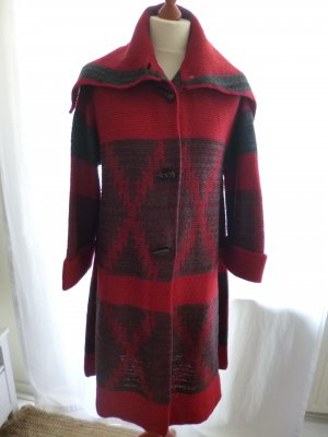 "Ralph Lauren Blue Label, Mantel ""Beacon Coat"", L, rot-grau, neu, € 1750, -"