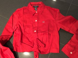 Polo Jeans Co. Ralph Lauren Blusa cruzada rojo