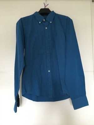 Ralph Lauren - Bluse blau mit Poloreiter NEU