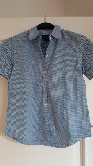 Ralph Lauren-Bluse, blau-weiß kariert, Größe 36