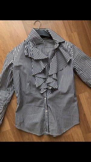 Ralph Lauren Bluse gestreift blau weiß S