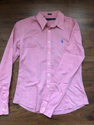 Ralph Lauren Bluse Hemd rosa pink lila