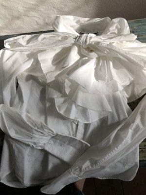 Ralph Lauren Bluse mit Schluppendetail und Volant
