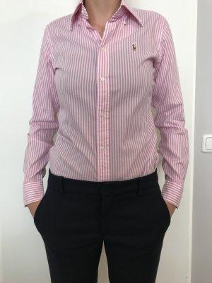 Ralph Lauren Bluse rosa gestreift