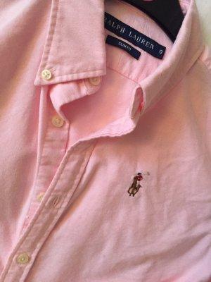 Ralph Lauren Bluse rosa wie neu slim fit 0