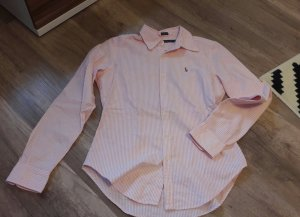 Ralph Lauren Bluse Streifen Rosa Hemd Pastelm Frühling