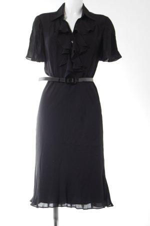 Ralph Lauren Blusenkleid schwarz Elegant