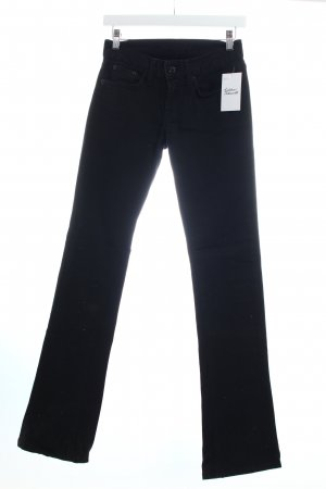 Ralph Lauren Boot Cut Jeans schwarz Glitzer-Optik
