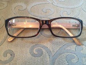 Gucci Glasses dark brown-light pink