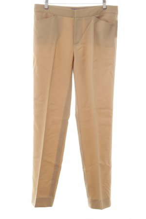 Ralph Lauren Bundfaltenhose beige Business-Look