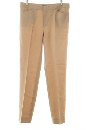 Ralph Lauren Bundfaltenhose beige Business-Look