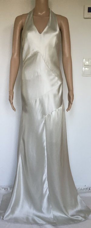 Ralph Lauren, Calista Dress Doubleface Charmeuse, Pearl Grey, 42 (US 12), Seide, neu, € 2.290,-