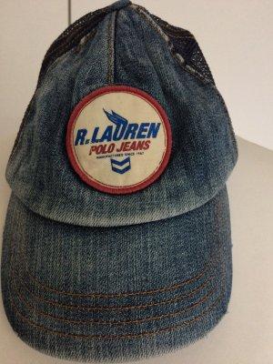 Lauren Jeans Co. Ralph Lauren Cappello blu acciaio