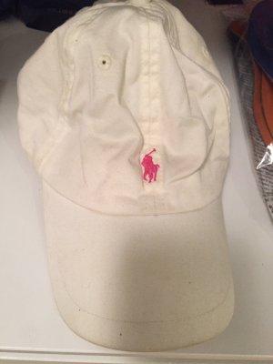 Ralph Lauren Cap weiß pink rosa Mütze unisex