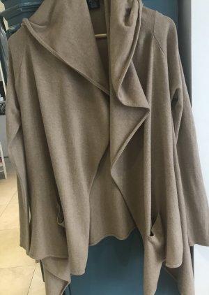 Ralph Lauren Cape Pullover Cardigan Wolle Gr L Oversized